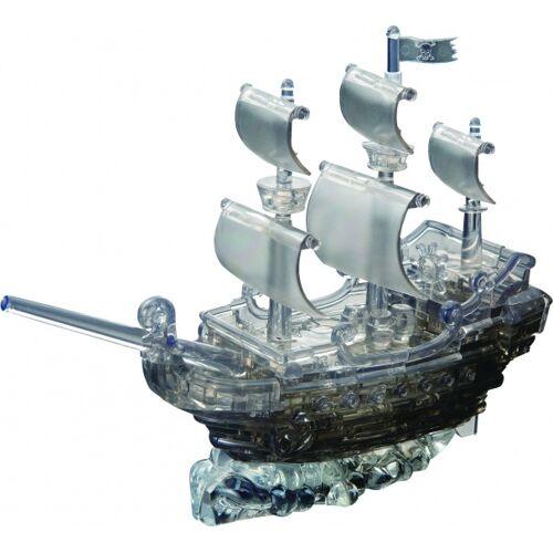 Crystal Puzzle 3D Puzzle Piratenschiff schwarz 101 teilig