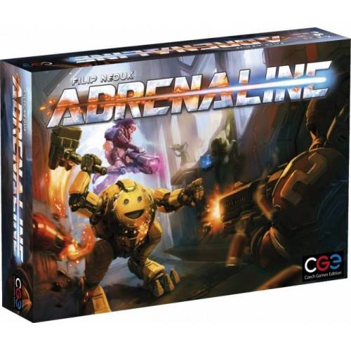 Czech Games Edition brettspiel Adrenaline