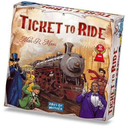 Days of Wonder Brettspiel Ticket to Ride   USA