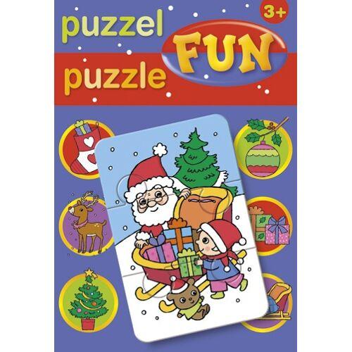 Deltas puzzle Kerst junior karton 15 teile