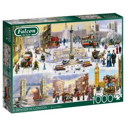 Falcon puzzle A Winter In London 1000 Teile