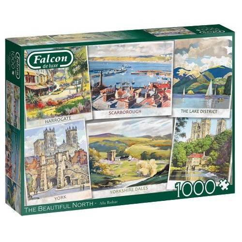 Falcon puzzle The Beautiful North 1000 Teile