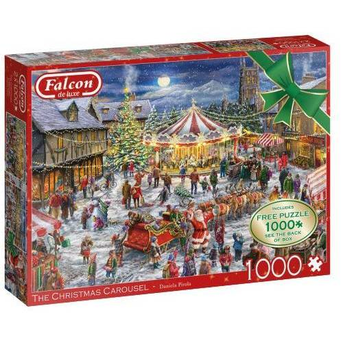 Falcon puzzle The Christmas Carousel 1000 Teile