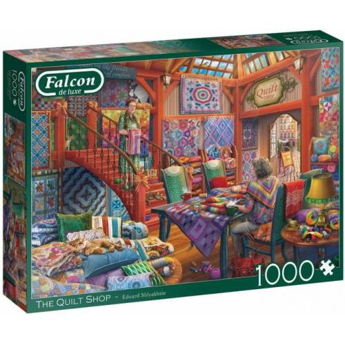 Falcon puzzle The Quilt Shop 1000 Teile