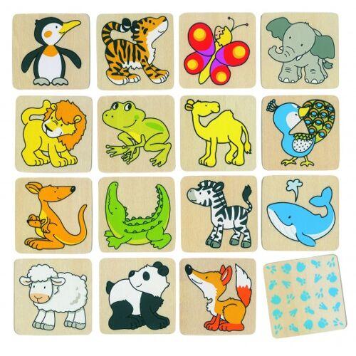 Goki gedächtnis wilde Tiere 32 Teile