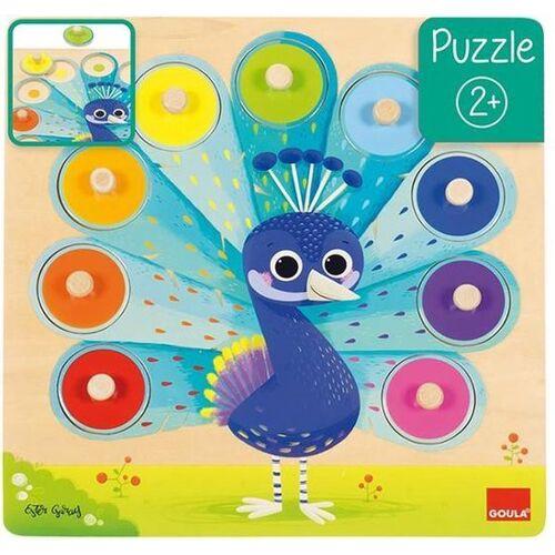 Goula puzzle Pauw junior Holz 9 Teile