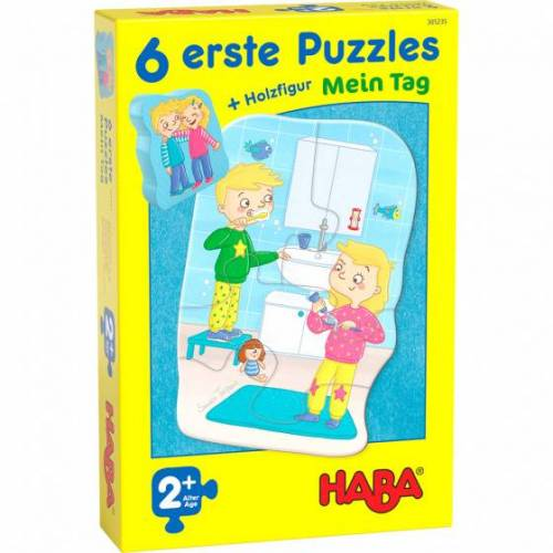 Haba puzzle 6 Erste Puzzles 6 in 1 My Day junior 19 teilig