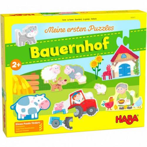 Haba puzzle My First Puzzles Farm 14 Teile (de)