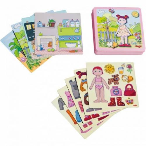 Haba Magnetisches Puzzle Anziehpuppe Lilli