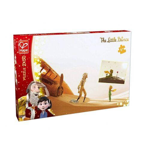 Hape puzzle De Kleine Prins  Liebe Freunde 2 Puzzles 50 Teile