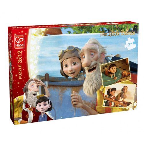 Hape puzzle De Kleine Prins  Daydream 3 Puzzles 12 Teile