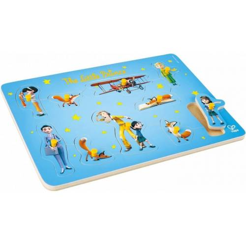 Hape puzzle De Kleine Prins 35 cm blau 10 Teile