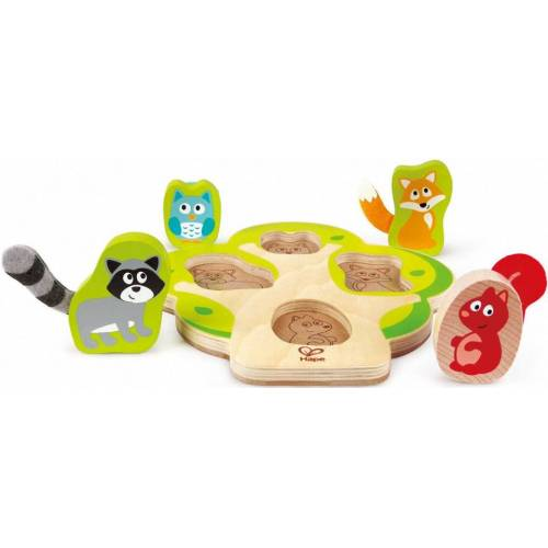 Hape puzzle Who's in the Tree junior Holz 4 Teile
