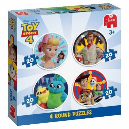 Jumbo puzzle Disney Toy Story 4 puzzle 4 in 1 80 Teile