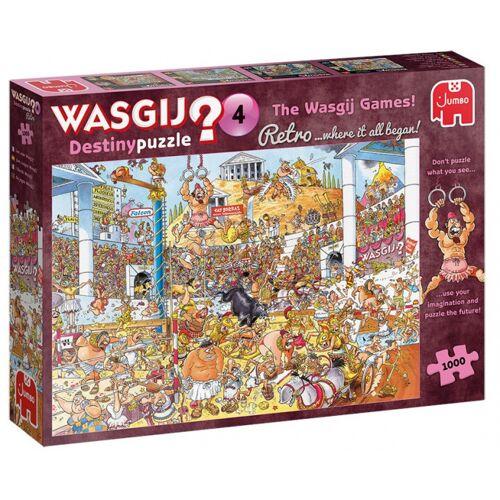 Jumbo puzzle Wasgij Destiny 4 The Wasgij Games 1000 Teile