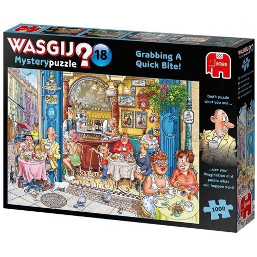 Jumbo puzzle Wasgij Mystery 18 Grabbing A Quick Bite 1000 tlg.