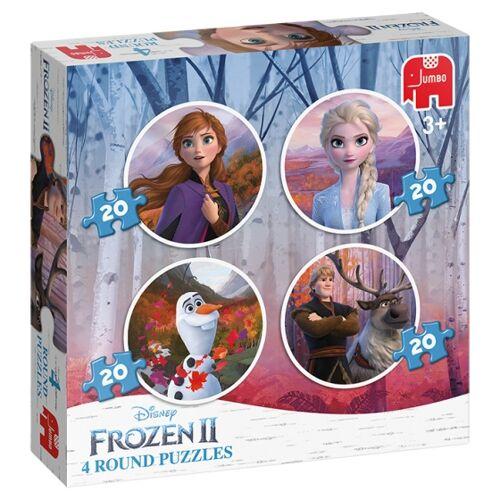 Jumbo puzzlespiel Disney Frozen II 80 Teile