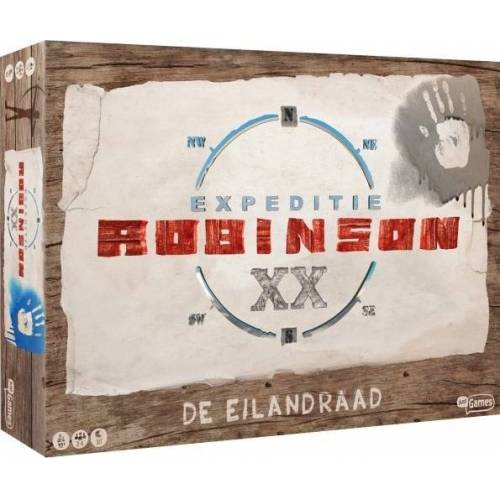 Just Games brettspiel Expedition Robinson   The Island Council (NL)