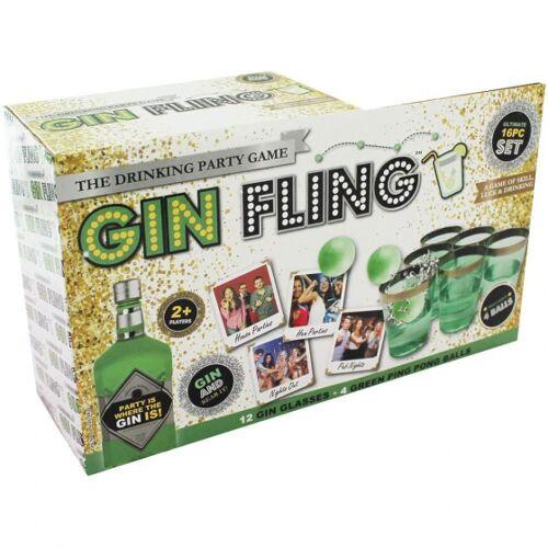 Kamparo trinkspiel Gin Fling 16 teilig
