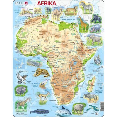 Larsen puzzle Maxi Afrika junior Karton 63 Teile