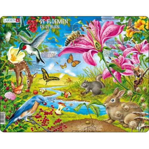 Larsen puzzle MaxiBlumen & Bienen 55 Teile