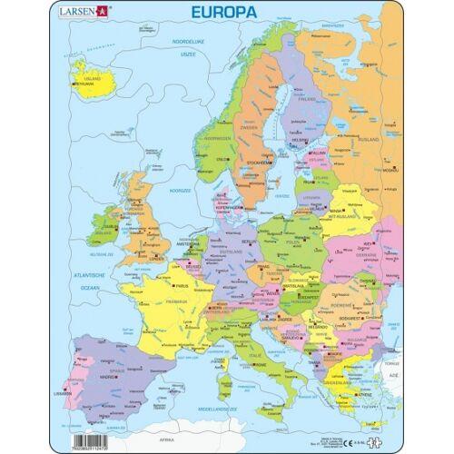 Larsen puzzle Maxi Europa junior Karton 28 Teile