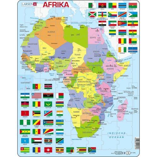 Larsen puzzle Maxi Afrika junior Karton 70 Teile