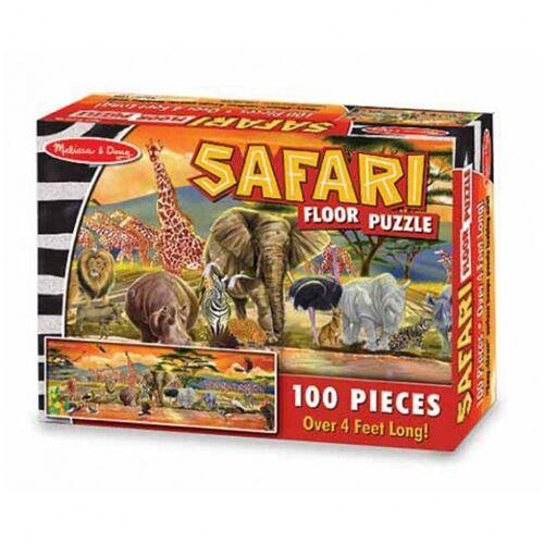 Melissa & Doug Safari Boden Puzzle 100 Stück