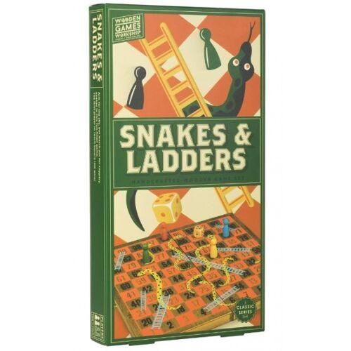 Professor Puzzle Brettspiel Schlangen und Leitern (de)