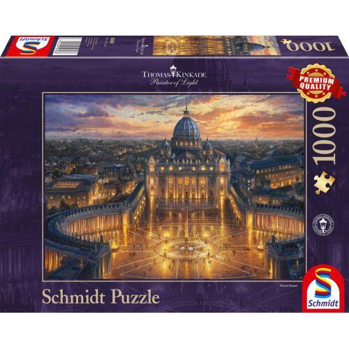 Schmidt Puzzle jigsaw Puzzle Der Vatikan Karton 1000 Teile