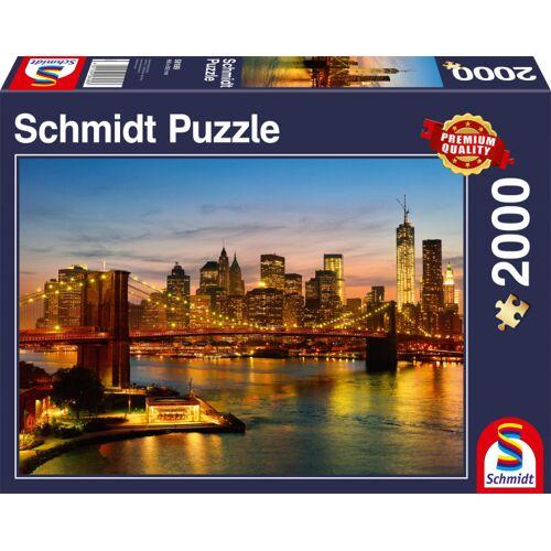 Schmidt Puzzle puzzle New Yorker Karton 2000 Teile