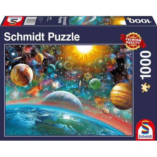 Schmidt Puzzle puzzlespiel Outer Space Karton 1000 Teile