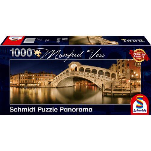 Schmidt Puzzle rialto Brücke Puzzle Karton 1000 Teile