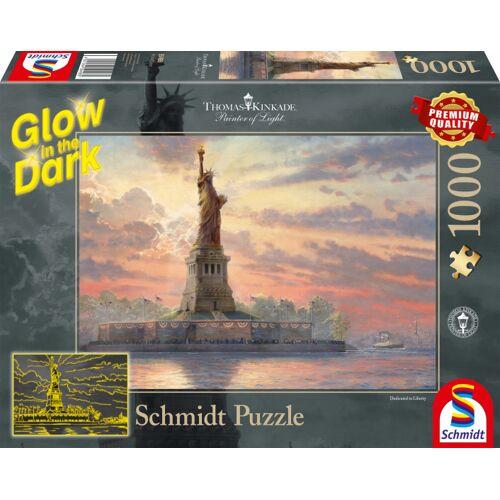 Schmidt Puzzle puzzle Freiheitsstatue Karton 1000 Teile