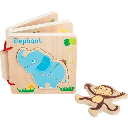 Small Foot puzzlebuch Tiere Junior 12 x 12 cm