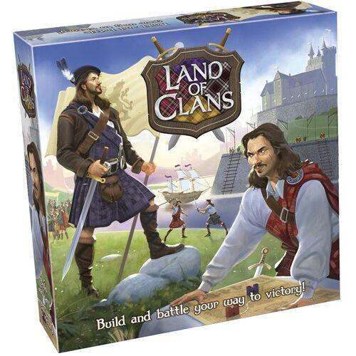 Tactic brettspiel Land der Clans