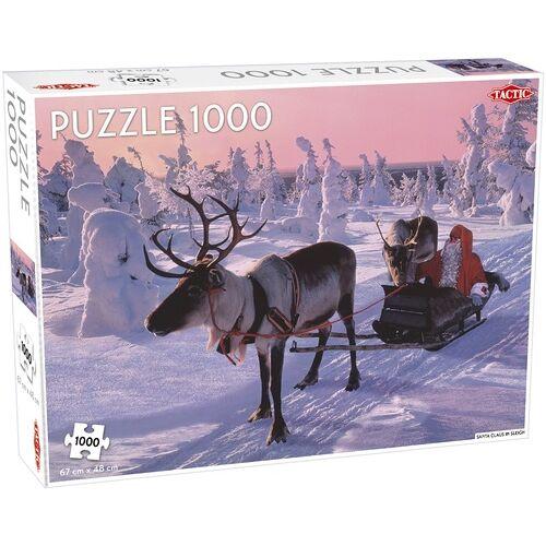 Tactic puzzle Weihnachtsmann im Schlitten 1000 Teile