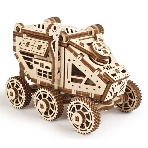 Ugears bausatz Mars Buggy 9 x 6,5 x 7 cm Holz braun 96 teilig