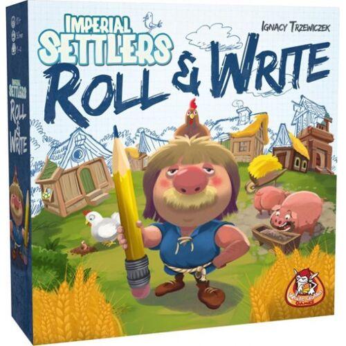 White Goblin Games würfelspiel Imperiale Siedler Roll & Write