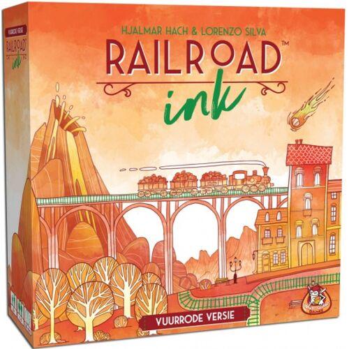 White Goblin Games Eisenbahnfarbe   Vuurrode versie (NL)