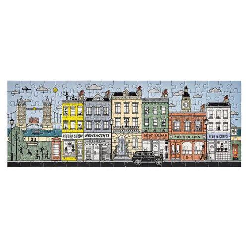Yes Studio puzzle doppelseitig London 38 x 14 cm 140 Teile