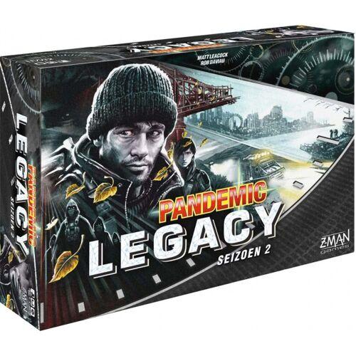 Z-Man Games Z Man Games Brettspiel Pandemic Legacy Season 2 Black (NL)