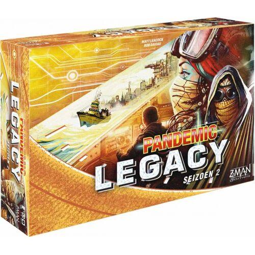 Z-Man Games Z Man Games Brettspiel Pandemic Legacy Season 2 Gelb (NL)