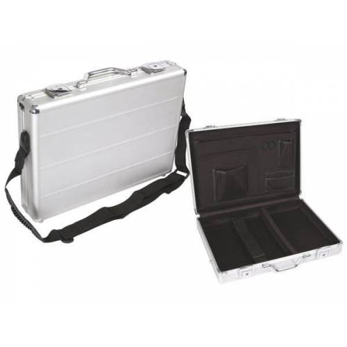 Perel laptop Tasche 425 x 305 x 80 mm Aluminium 10,3 L silber