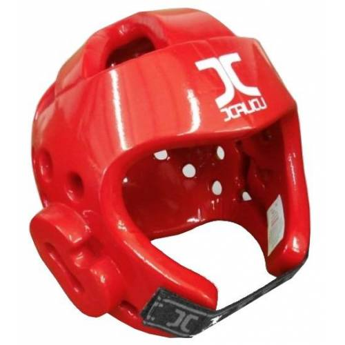 JCalicu Taekwondo Kopfschutz WTF rot Größe XS