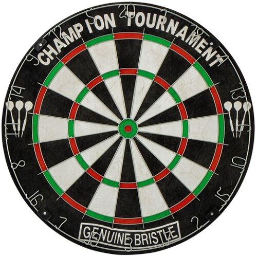 Abbey Darts dartscheibe Classic 45 x 3,5 cm Sisal schwarz/weiß