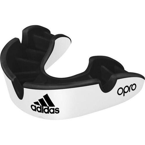 Adidas mundschutz Opro Gen4 Silber Junior Kautschuk Weiß