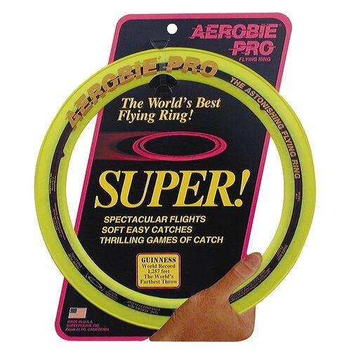 Aerobie frisbee Ring Pro 33 cm Gummi gelb