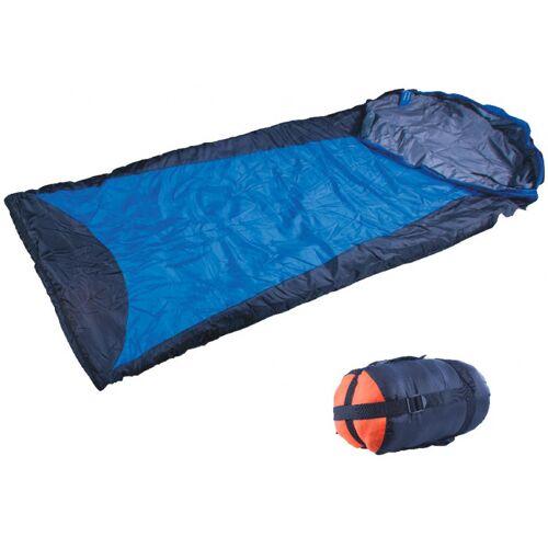 Atipick schlafsack Ultralight 220 x 75 cm Nylon/Baumwolle blau