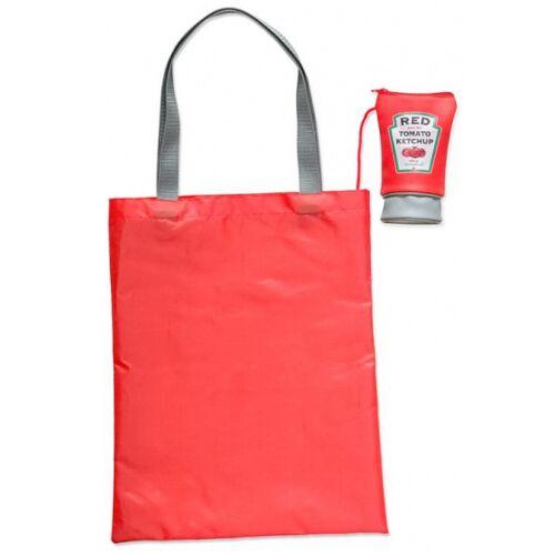 Balvi faltbarer Shopper Ketchup 41 cm Polyester rot